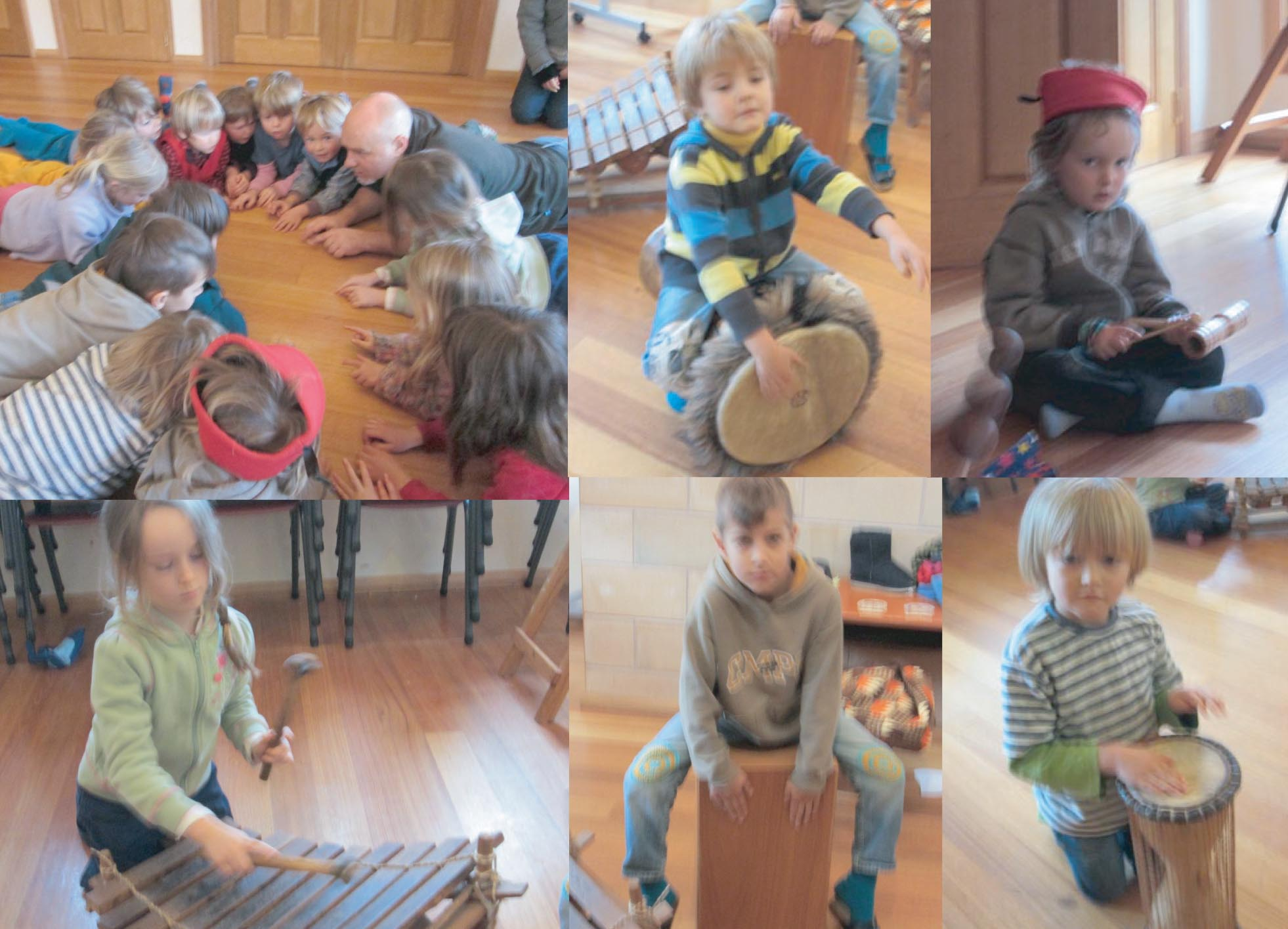 prgne drums montage