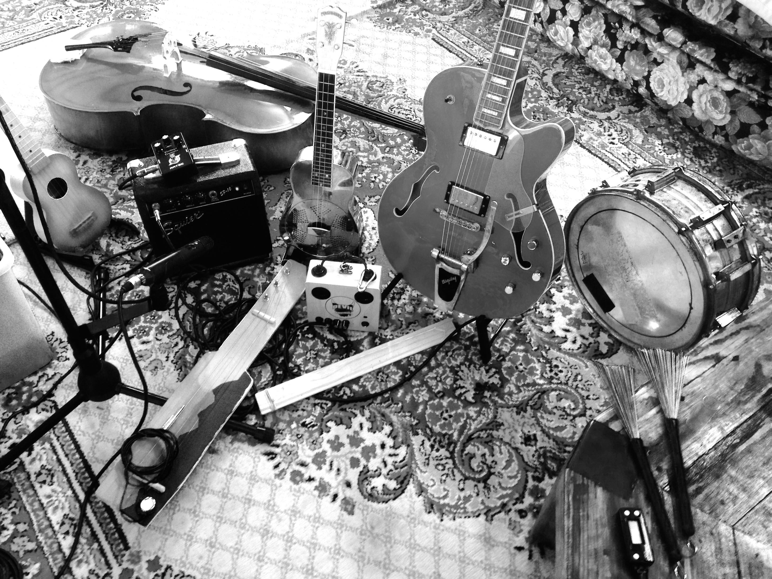 family-studio-shot-bw